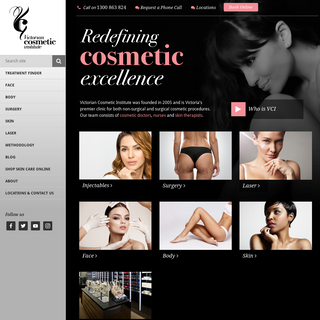 Victorian Cosmetic Institute Melbourne - Redefining Cosmetic Excellence