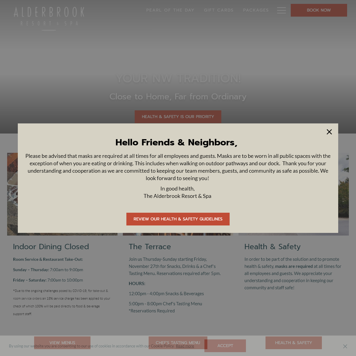 Alderbrook Resort & Spa - Washington State Luxury Resort