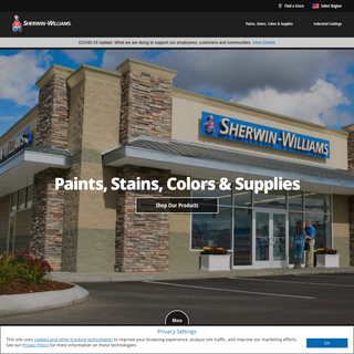 Sherwin-Williams Paints, Stains, Supplies and Coating Solutions