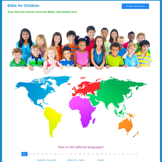 Bible for Children - Your favorite stories from the Bible. Absolutely free.