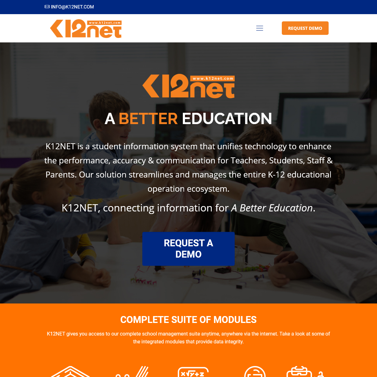 K12NET – Student Information Management System
