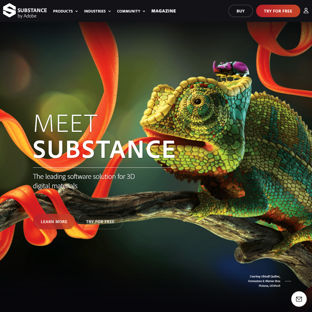 Substance - The leading software solution for 3D digital materials
