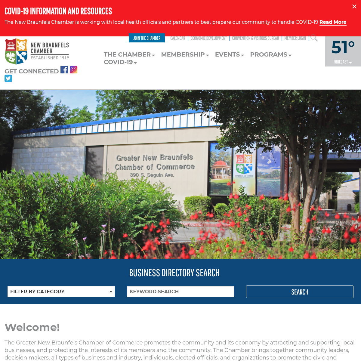 Official site for New Braunfels Chamber of Commerce