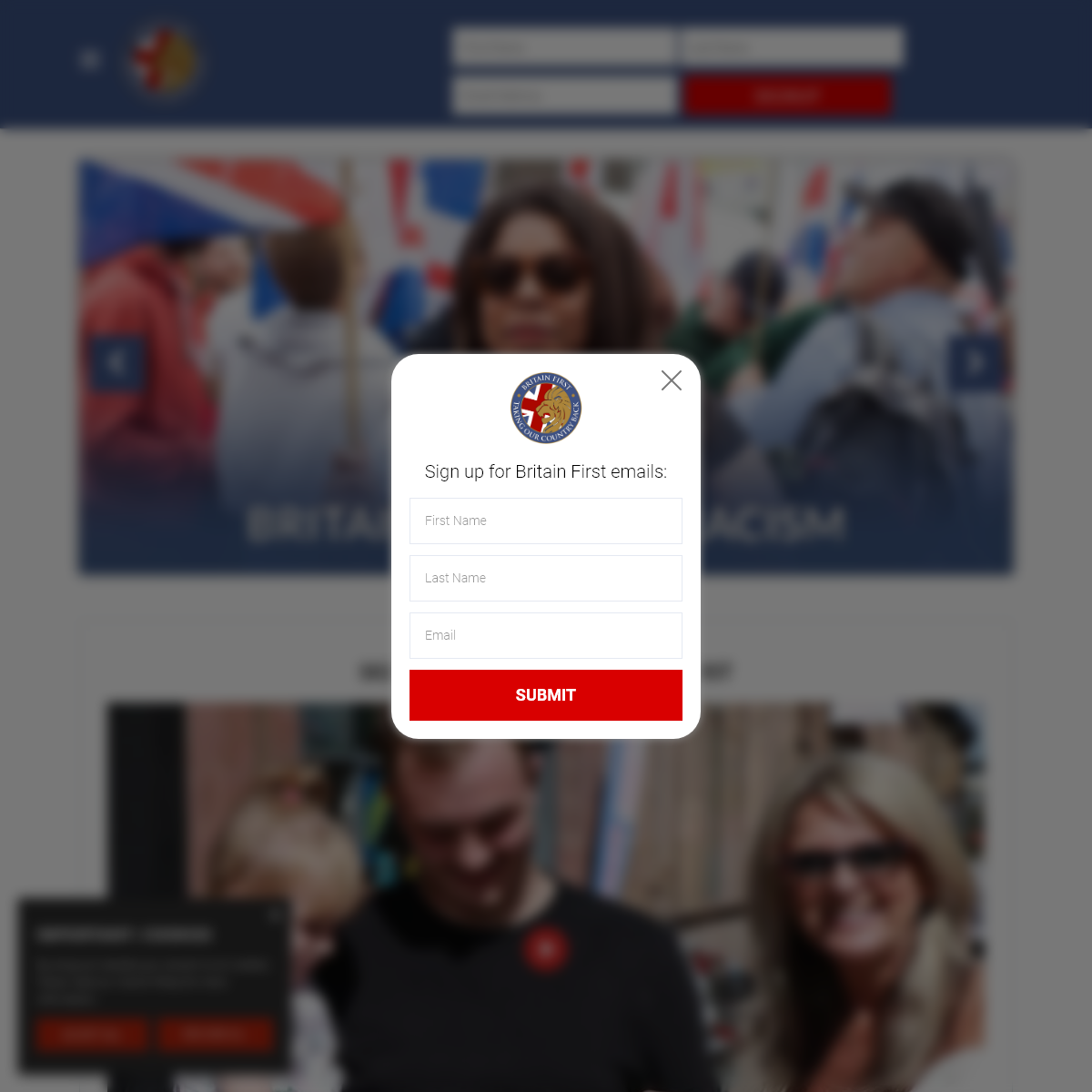 Britain First - OFFICIAL WEBSITE