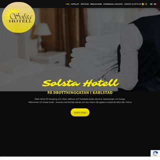 Solsta Hotell på Drottninggatan i Karlstad