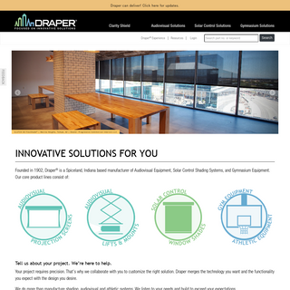 Draper, Inc. - Innovative Solutions for You