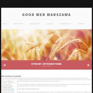 Good Web - tworzenie stron