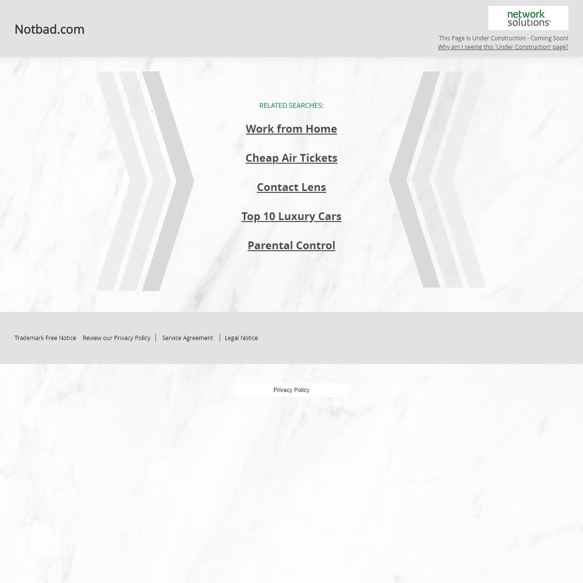 Notbad.com