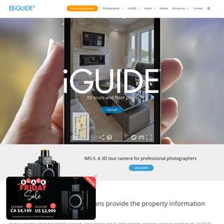 iGUIDE 3D Tour Camera - Property Floor Plans - 3D Virtual Tours