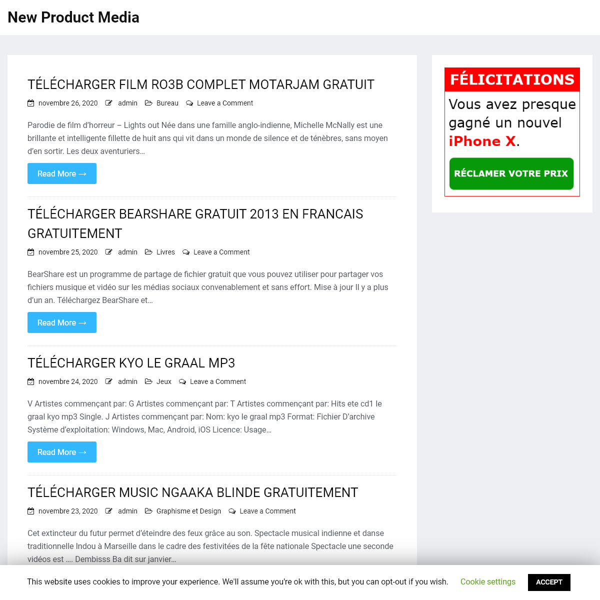 New Product Media -