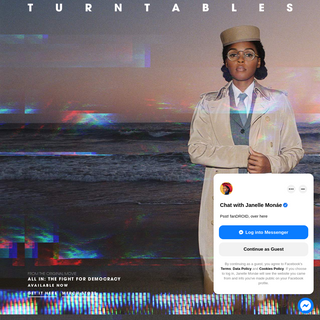 Janelle Monáe Official Website - TURNTABLES OUT NOW