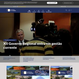 Portal do Governo dos Açores - Portal