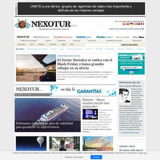 Nexotur - Plataforma online de Información turística