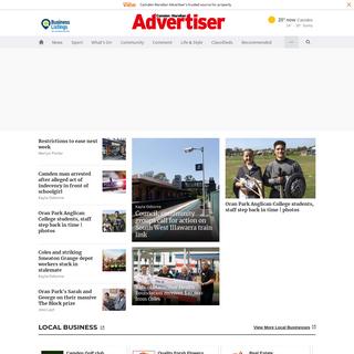 Camden news, sport and weather - Camden-Narellan Advertiser - Camden, NSW