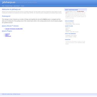 The Personal Site of Jonathan Sharp » jdsharp.us