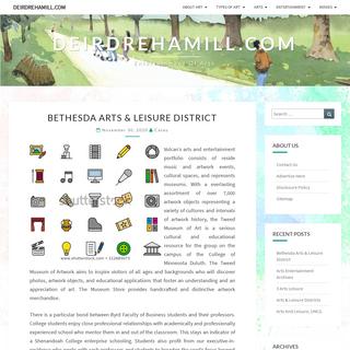 Deirdrehamill.com - Entertainment of Arts