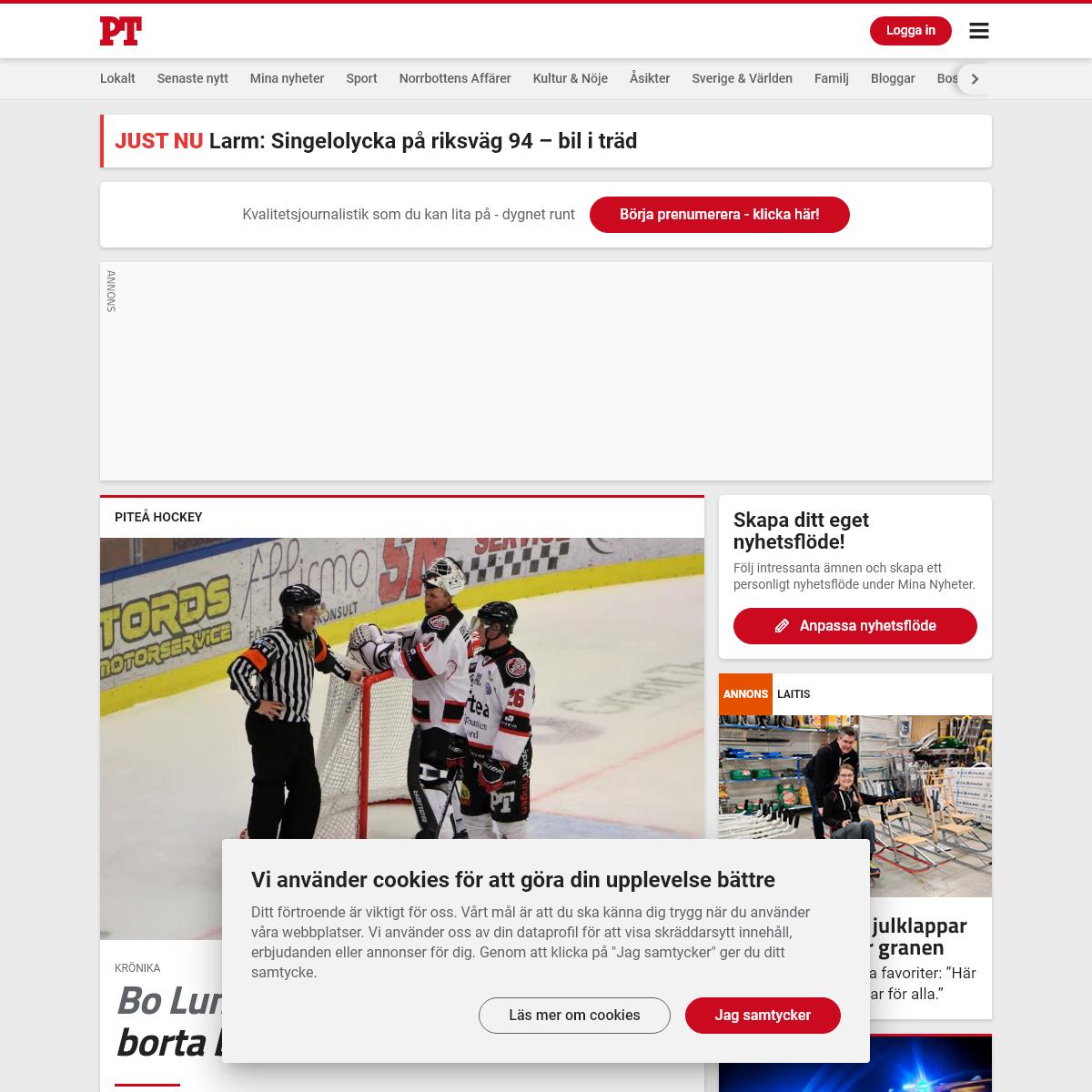 Nyheter – Piteå-Tidningen