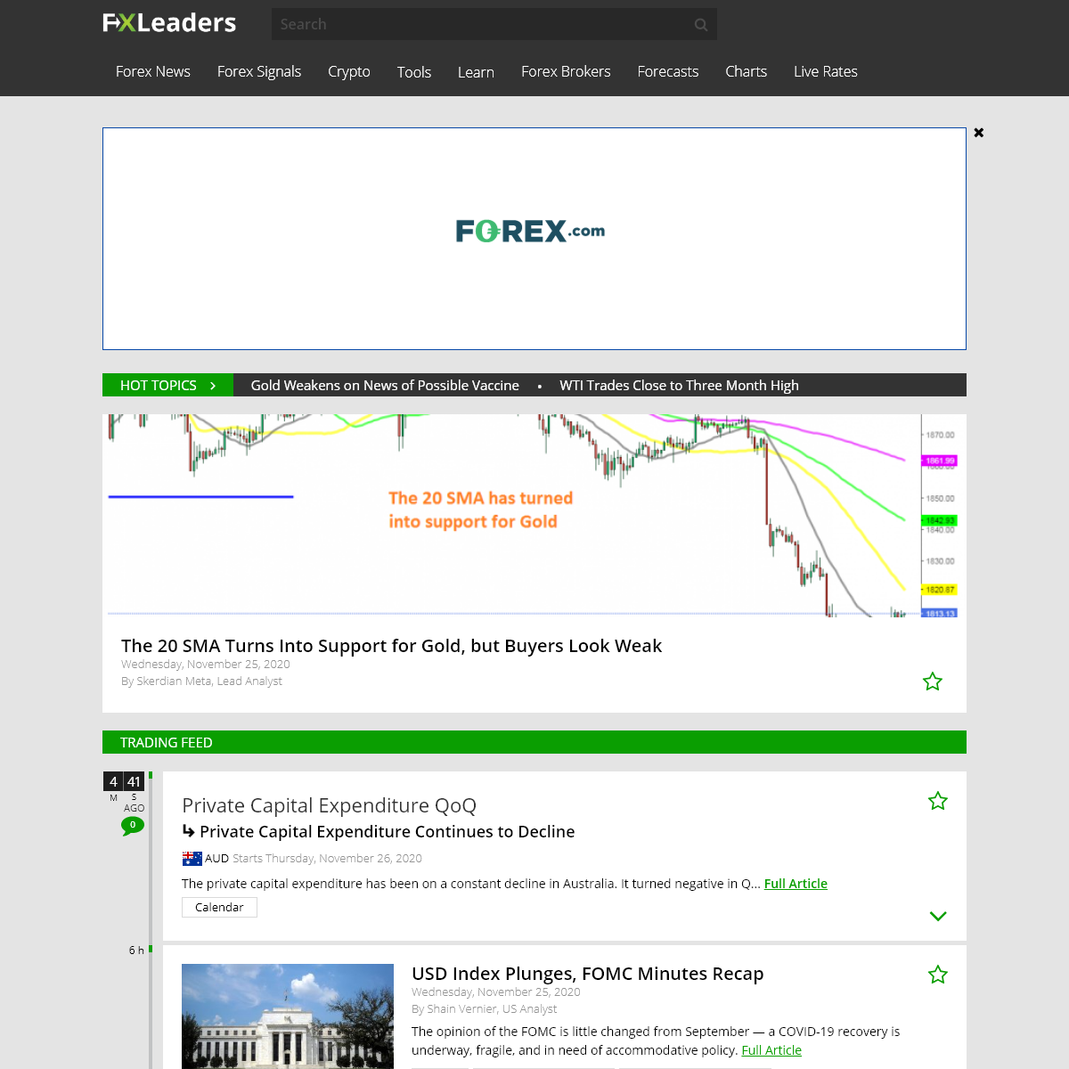 FX Leaders- Forex Signals, FX Market Analysis, News & Education