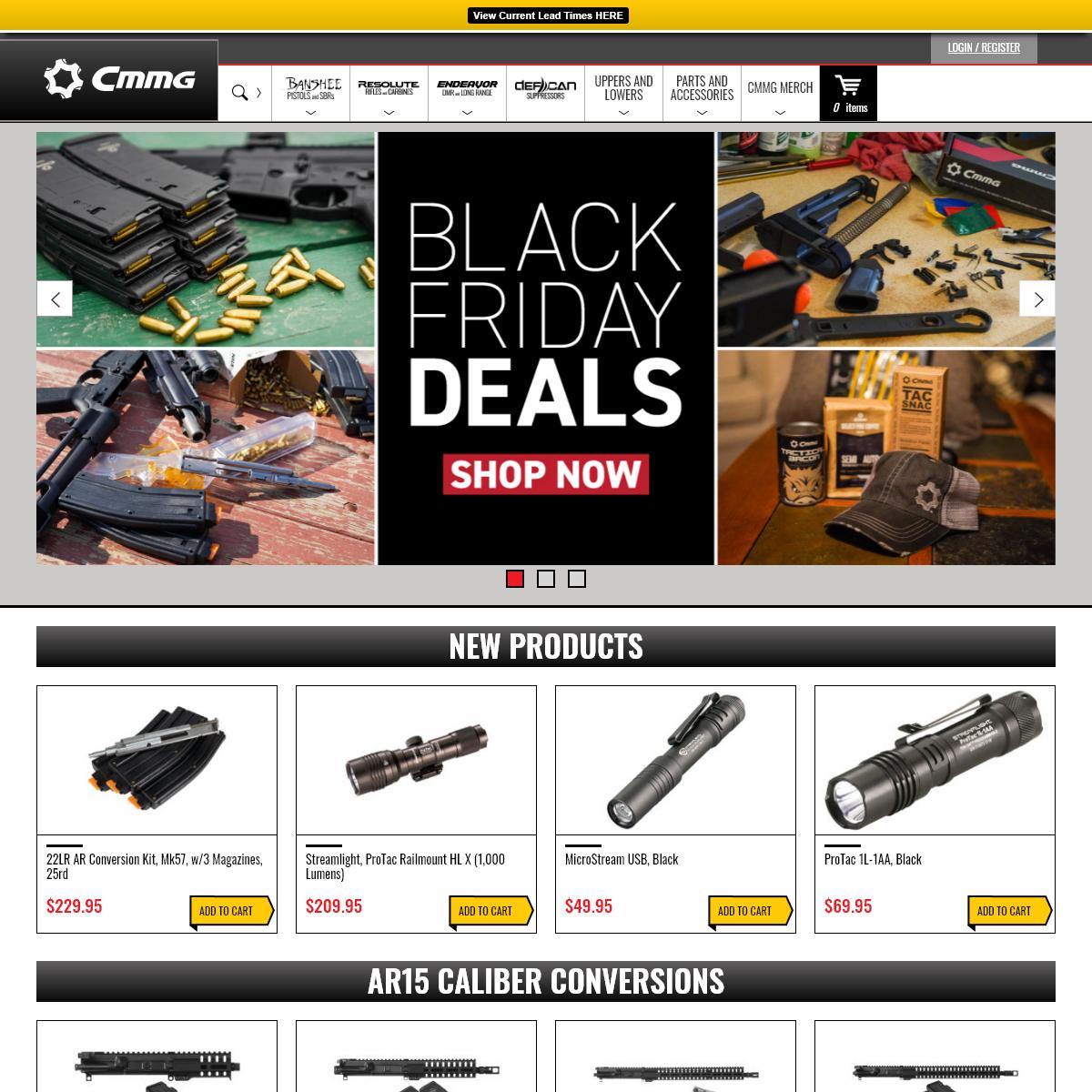 Home Page - CMMG Inc.