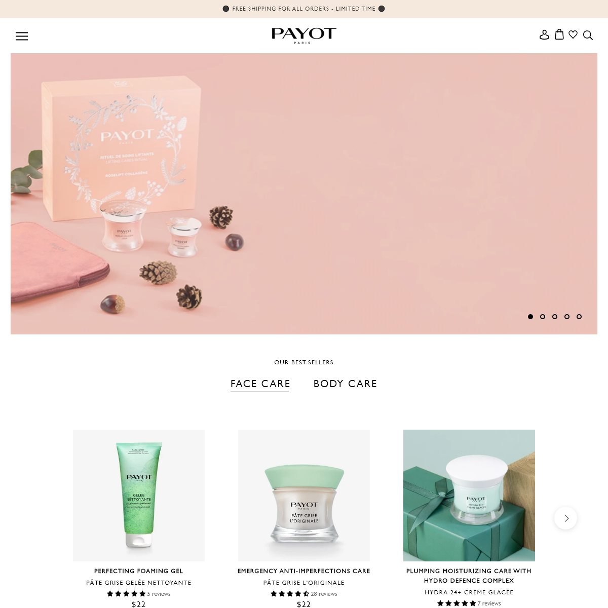 PAYOT - Beauty Products, Skincare, Anti-Aging and Body Care
