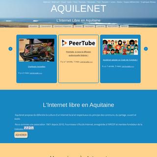 Accueil - Aquilenet