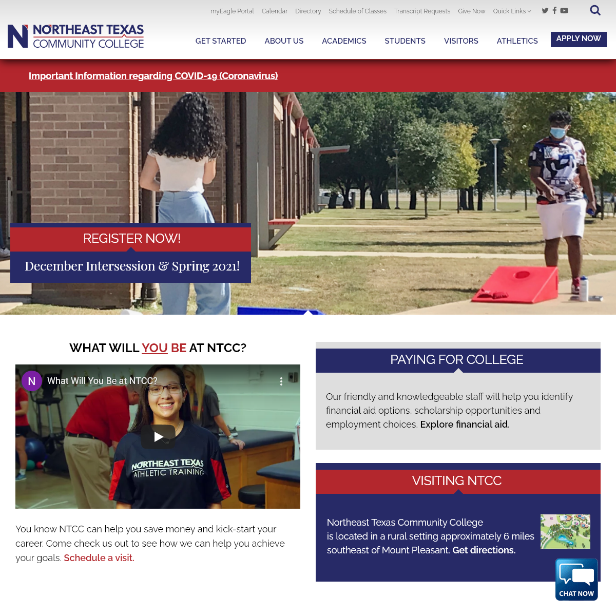 Home - Northeast Texas Community College