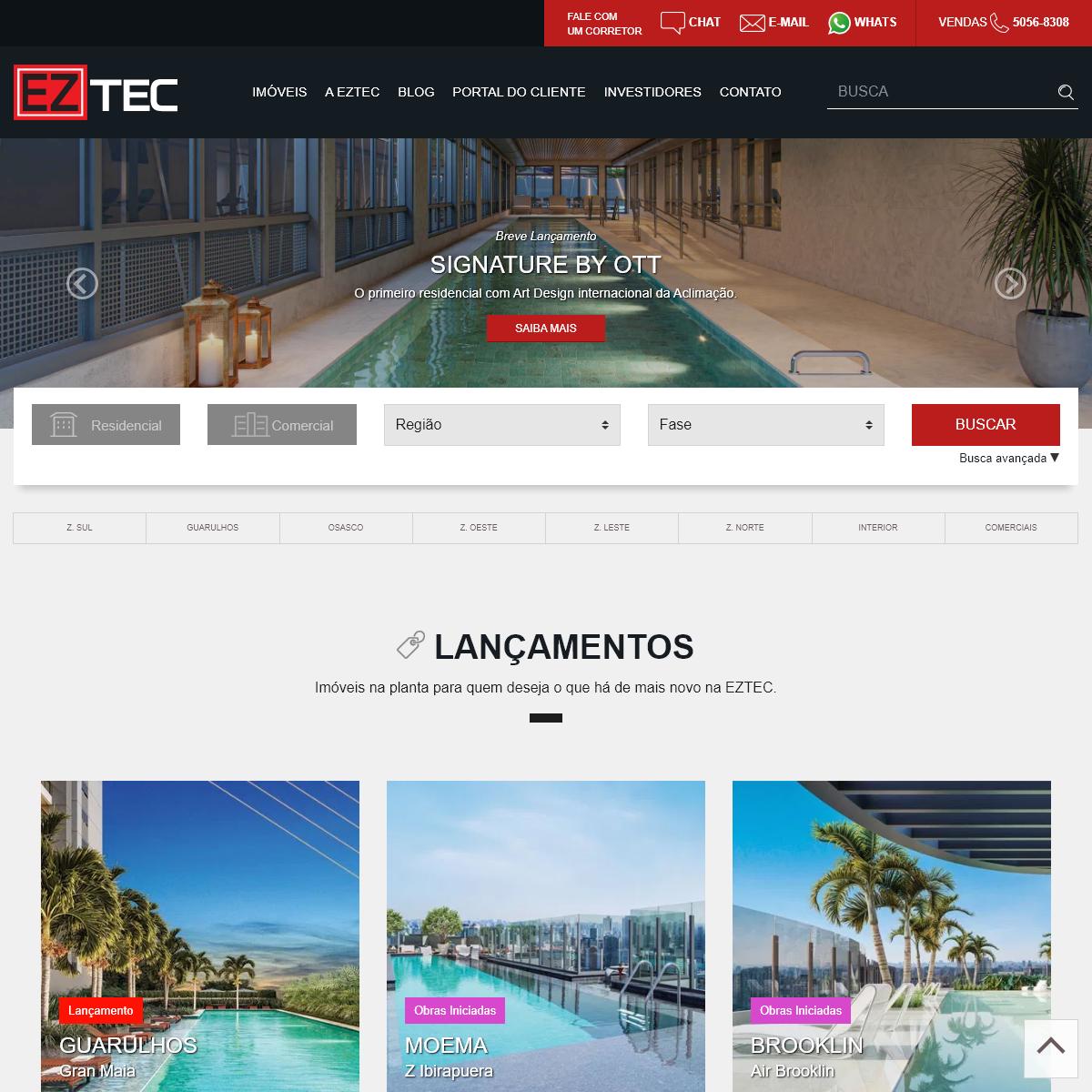 EZTEC - Os Melhores Apartamentos e Salas Comerciais para Você!