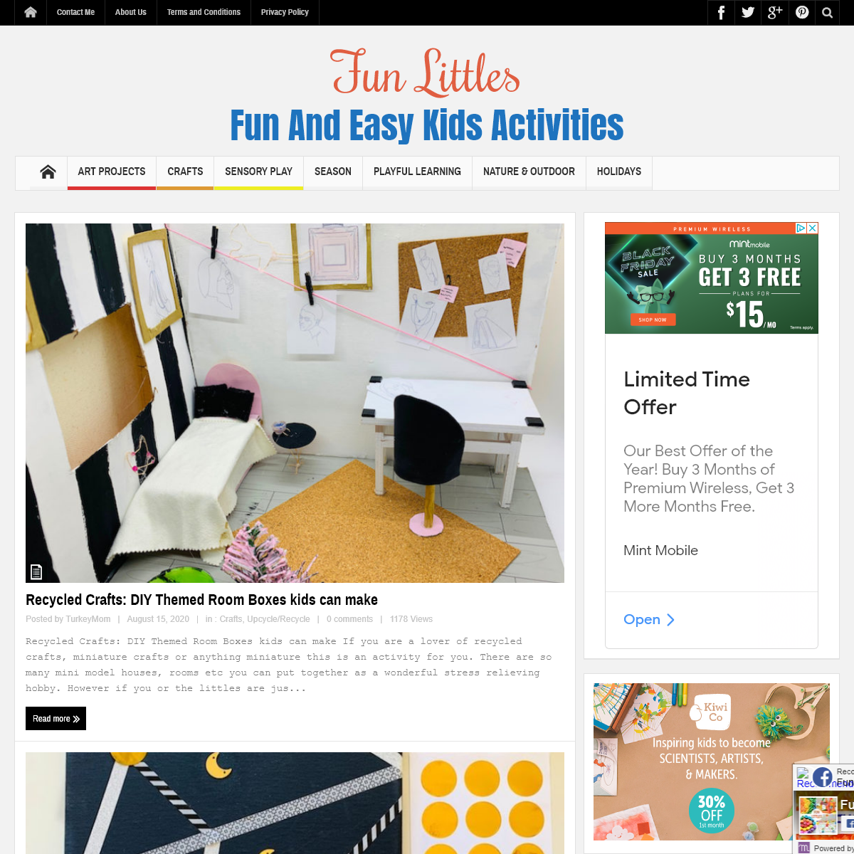 Fun Littles - Fun And Easy Kids Activities