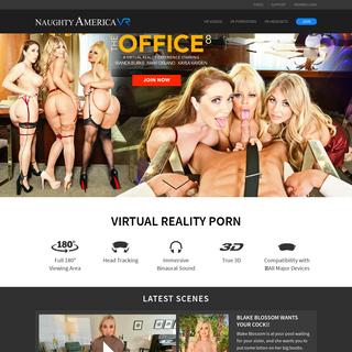VR Porn - Virtual Reality Porn & Sex Videos by Naughty America