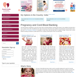 Cord Blood Banking - Parent`s Guide to Cord Blood