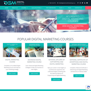 DSM - Digital School Of Marketing - Accredited Digital Marketing Courses