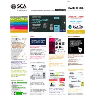 SCA - Sociedad Central de Arquitectos