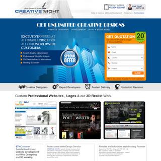 Creative Sight - Leading Website & Software Studio
