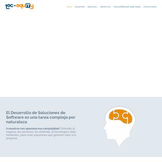 Páginas Aplicaciones Sistemas Web - Tec-Equity