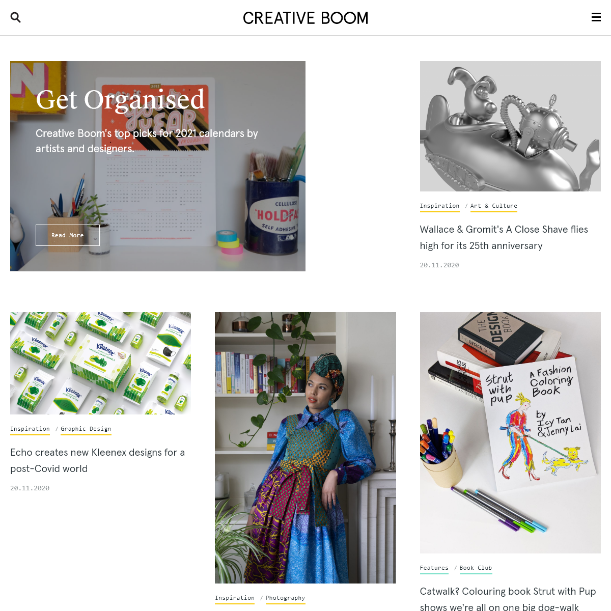 Art & Design Magazine for the Creative Industries - Creative Boom