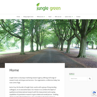 Jungle Green MRC - Jungle Green boutique marketing research agency
