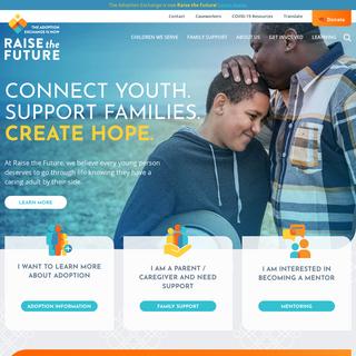 The Adoption Exchange is now Raise the Future - Raise The Future