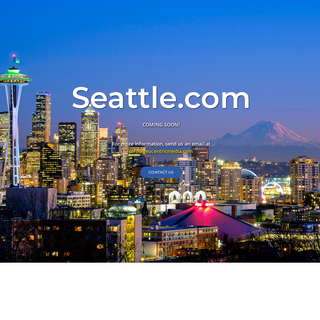 Seattle.com - Coming Soon!