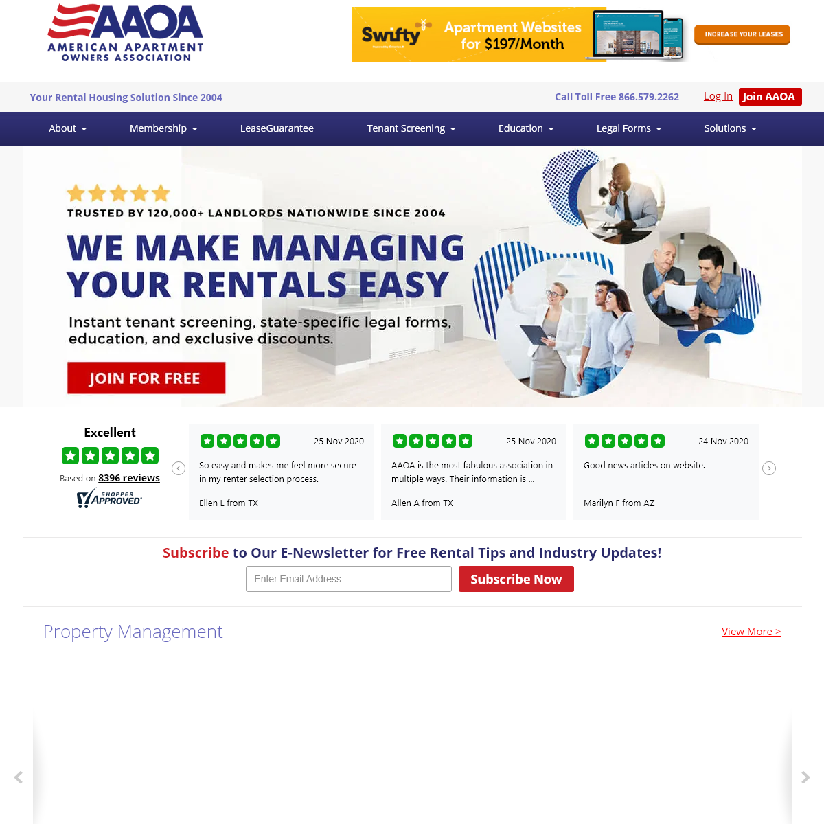 Tenant Screening, Landlord Forms & Property Management Help