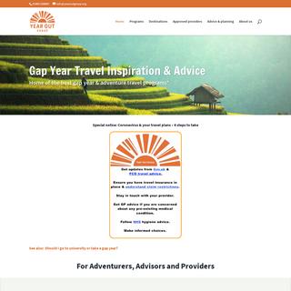 Gap year travel - Approved gap year providers - Gap year advice