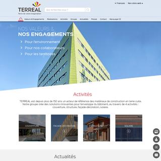 TERREAL Terre de votre imagination - Site Terreal Corporate