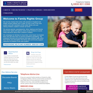 Home - Family Rights Group
