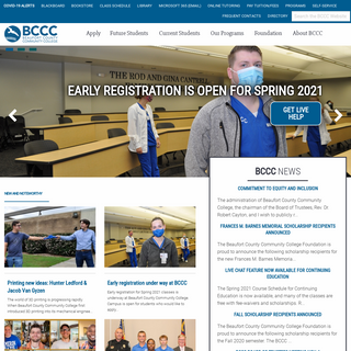 Home - Beaufort County Community College