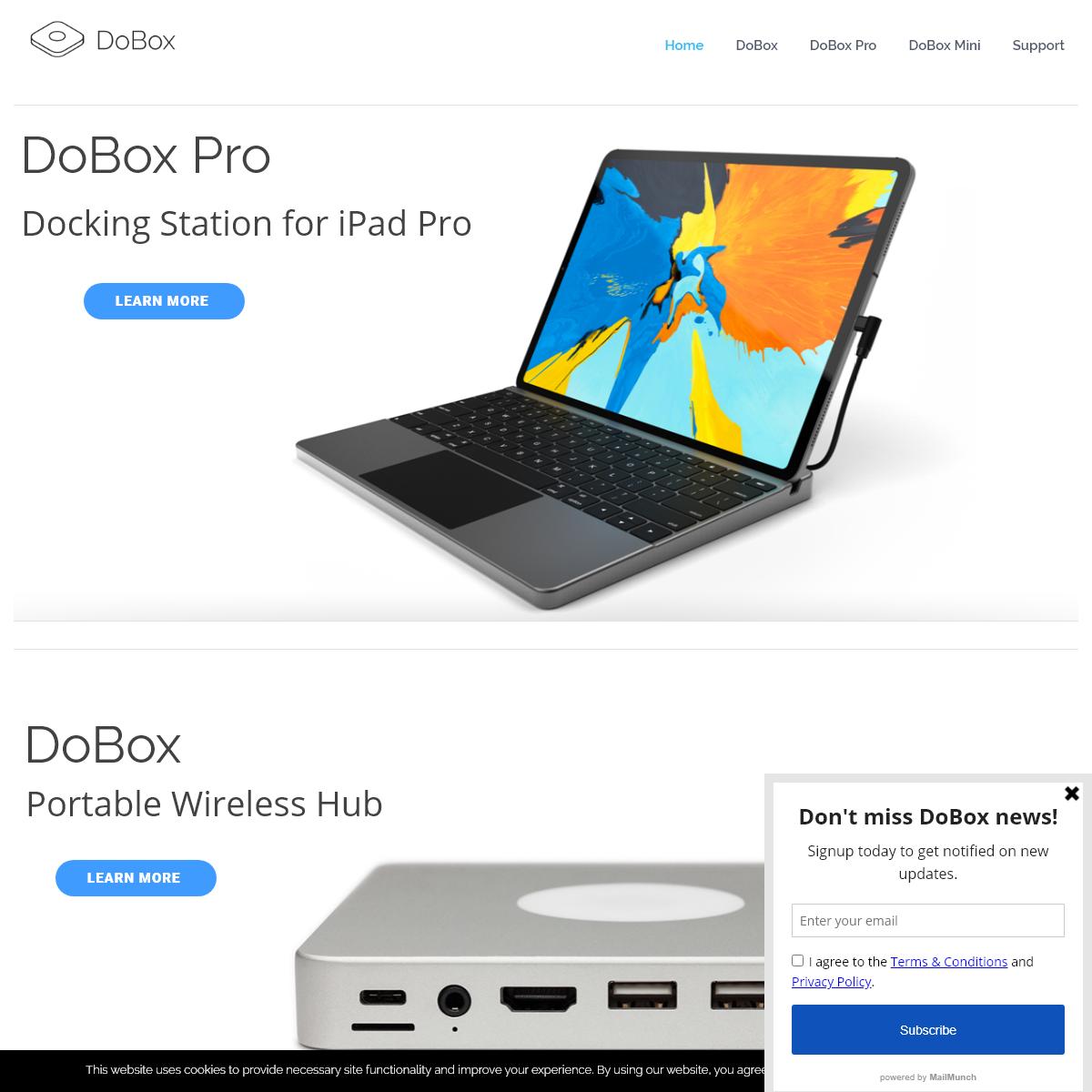 DoBox – Portable Wireless Hub