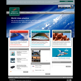 Plastic Sheets Manufacturer - Rooflights - Plumbing & Drainage - Brett Martin