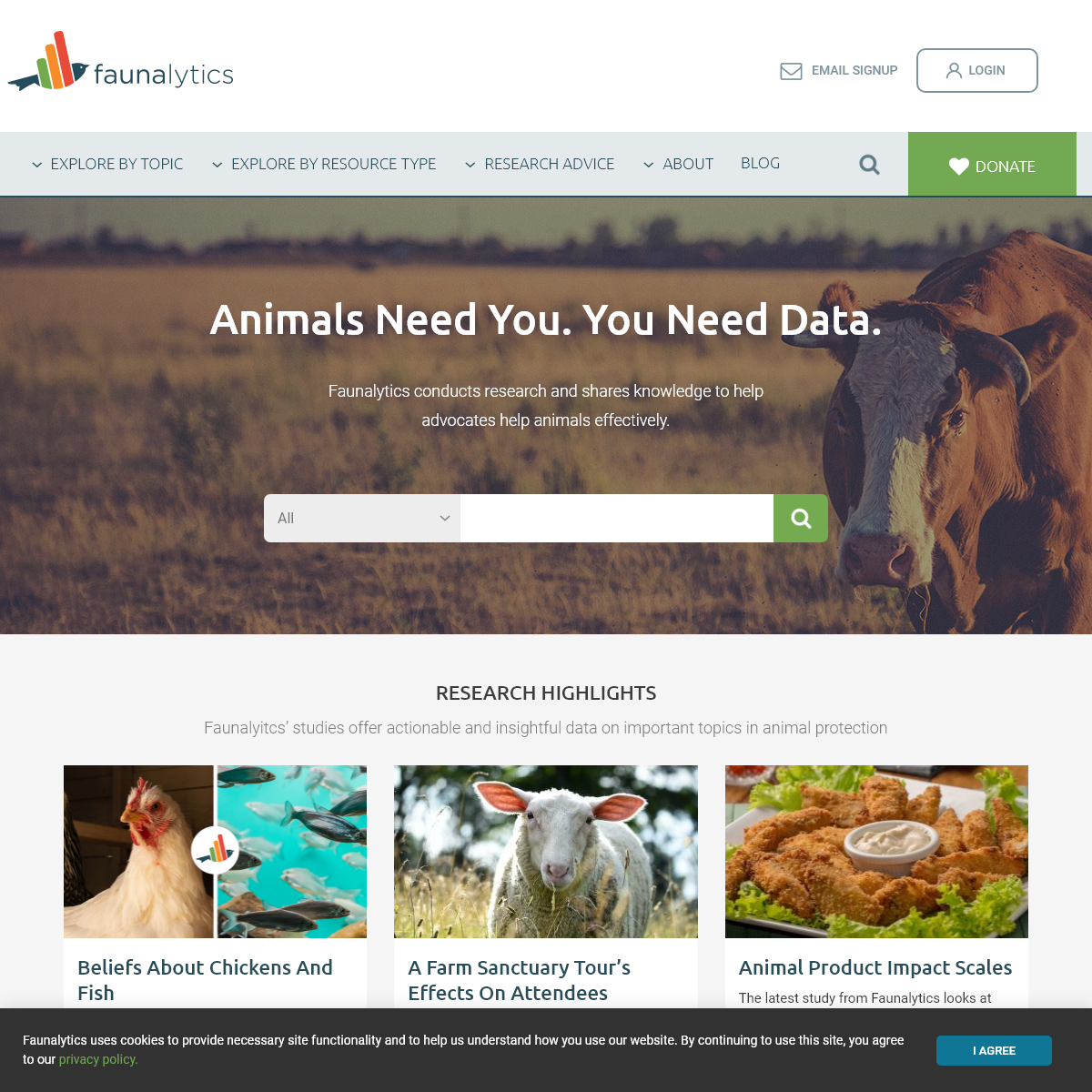 Research For Effective Animal Advocacy - Faunalytics