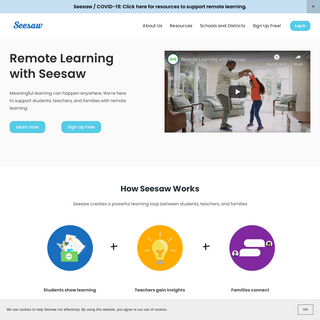 Seesaw - Where learning happens