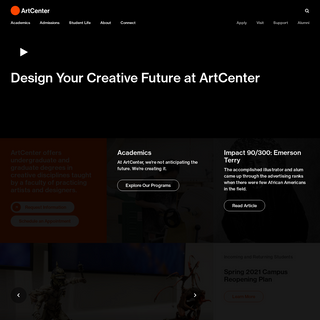 ArtCenter College of Design - A Global Leader in Art and Design Education