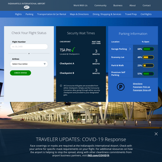 Indianapolis Airport Authority (Home) - Indianapolis Airport Authority
