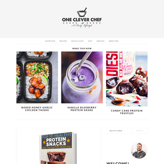 One Clever Chef - Healthy, Gluten-Free Food for Busy People with an Active Lifestyle